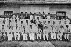 Students and teachers of Government Training College, Aluthgama       who contributed Rs. 1,000/- to the CMSF in 1945